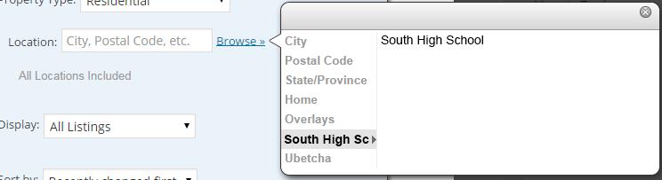 Map Overlays - Flexmls® IDX WordPress Plugin